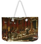 The Visit Of The Queen Of Sheba To King Solomon Weekender Tote Bag