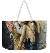 The Voices. Hesiod And The Muse Weekender Tote Bag