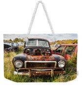 The Volvo Junkyard Weekender Tote Bag