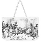 The Voodoo Dance Weekender Tote Bag
