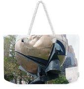 The W T C Fountain Sphere Weekender Tote Bag