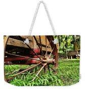 The Wagon Wheel Weekender Tote Bag
