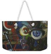 The Wandering Eye Weekender Tote Bag