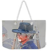 The War Vet Weekender Tote Bag