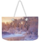 The Warmth Of Winter Weekender Tote Bag