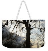 The Washington Monument Lost In The Trees Weekender Tote Bag