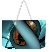The Watcher Abstract Weekender Tote Bag