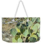 Cedar Park Texas Prickly Pear Cactus Weekender Tote Bag