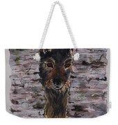 The Watchful Wolf Weekender Tote Bag