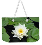 The Water Lilies Collection - 01 Weekender Tote Bag