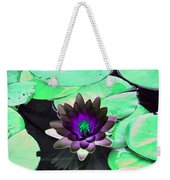 The Water Lilies Collection - Photopower 1113 Weekender Tote Bag