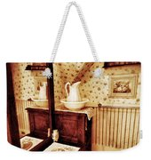 The Water Pitcher And Wash Basin Weekender Tote Bag
