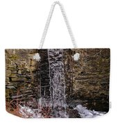 The Waterfall At Hagy's Mill Weekender Tote Bag