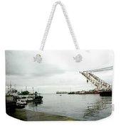 The Waterfront Weekender Tote Bag