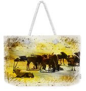 The Waterhole  Weekender Tote Bag
