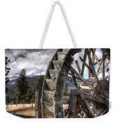 The Waterwheel Weekender Tote Bag