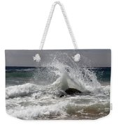 The Wave And The Rock Weekender Tote Bag