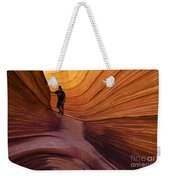 The Wave Beauty Of Sandstone 1 Weekender Tote Bag
