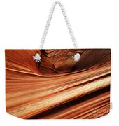 The Wave Layers Of Time Weekender Tote Bag