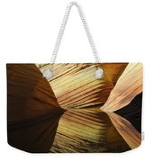 The Wave Reflected Beauty 2 Weekender Tote Bag