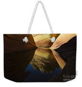 The Wave Reflected Beauty 3 Weekender Tote Bag