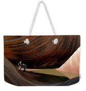 'the Wave' North Coyote Buttes 44 Weekender Tote Bag
