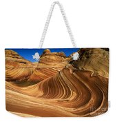 The Wave Wonder In Stone Weekender Tote Bag