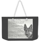 The Way Weekender Tote Bag by Sue Long