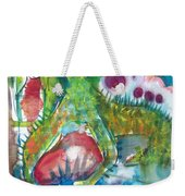 the WEDDING of the RABBITS Weekender Tote Bag
