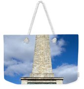 The Wellington Monument Weekender Tote Bag
