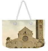 The West Facade Of The Church Of Saint Mary In Utrecht Weekender Tote Bag