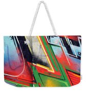 The West Side Of The Wall Weekender Tote Bag