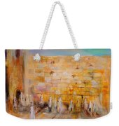 The Western Wall Weekender Tote Bag