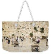 The Western Wall In Jerusalem Israel Weekender Tote Bag