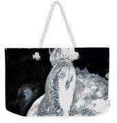The White Deer Weekender Tote Bag