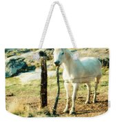 The White Horse Weekender Tote Bag