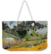 The White Horse In Spring  Weekender Tote Bag
