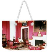 The White House Red Room Weekender Tote Bag