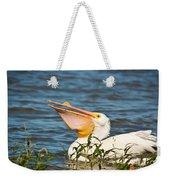 The White Pelican Weekender Tote Bag