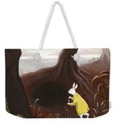 The White Rabbit Weekender Tote Bag