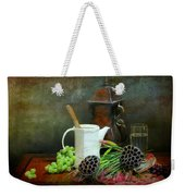 The White Spout Weekender Tote Bag by Diana Angstadt