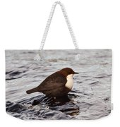 The White-throated Dipper Weekender Tote Bag