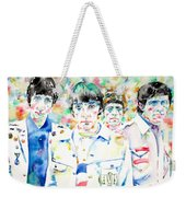 The Who - Watercolor Portrait Weekender Tote Bag