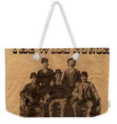 The Wild Bunch Weekender Tote Bag