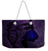 The Wilted Blue Rose Weekender Tote Bag