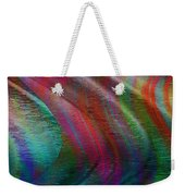 The Wind Pushes The Curtains Aside Weekender Tote Bag