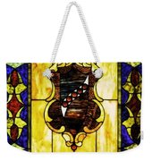 The Window At The Clark Chateau Weekender Tote Bag