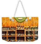 The Wine Cellar Weekender Tote Bag