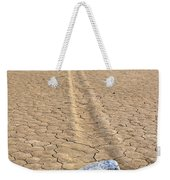 The Winner Death Valley Moving Rock Weekender Tote Bag