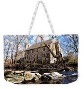 The Wissahickon Creek And Mather Mill Weekender Tote Bag